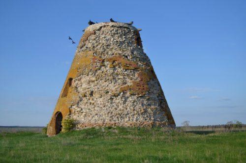 Современный вид башни периода начала 18 века. Центром
