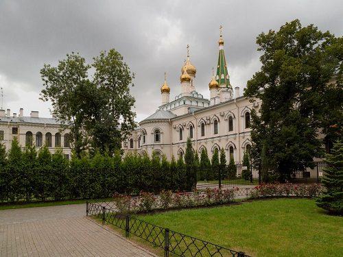 Трапезная Воскресенского Новодевичьего монастыря, Санкт-Петербург 2009 год