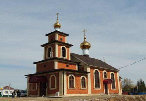 Свято-Никольский храм, Петропавловская Слобода, Татарстан