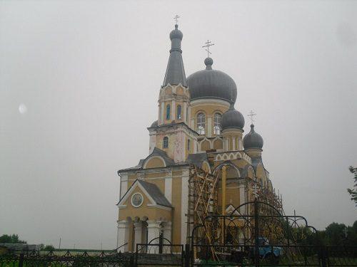 Свято-Троицкий храм, Д.Достоево, Брестская обл., Беларусь, 2012 год