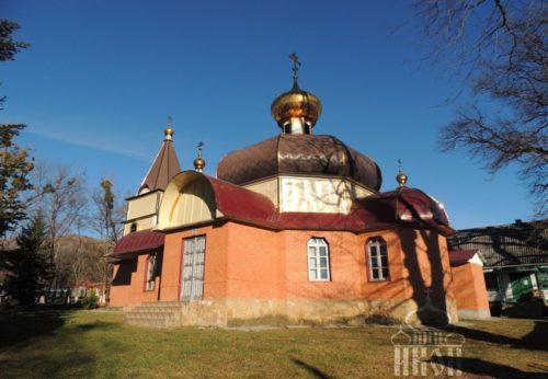 Храм в честь Преображения Господня, п. Псебай, Краснодарский кр.