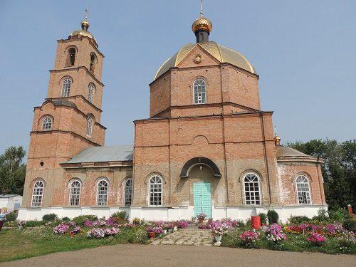 Свято Троицкий храм, Чистопольские Выселки Татарстан