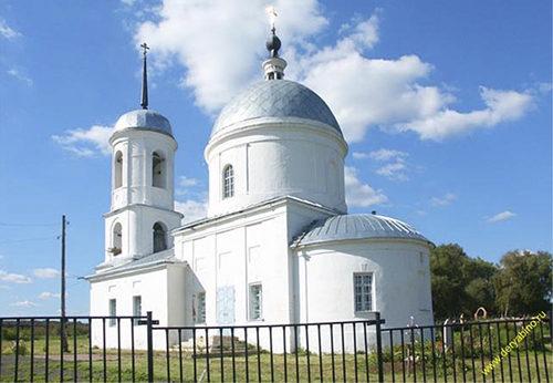 Храм Вознесенского, Сатино-Русское, Москва