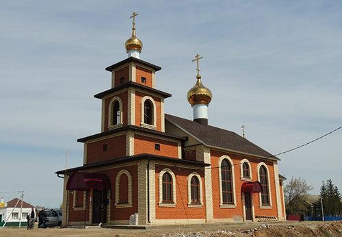 Храм Свято-Никольский, Петропавловская Слобода, Татарстан