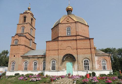 Храм Свято-Троицкий, Чистопольские Выселки, Татарстан